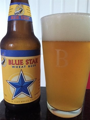 north coast blue star wheat beer