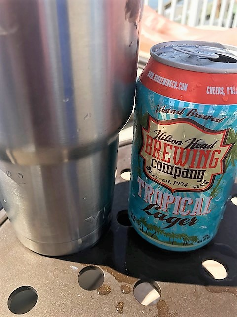 hilton head brewing tropical lager